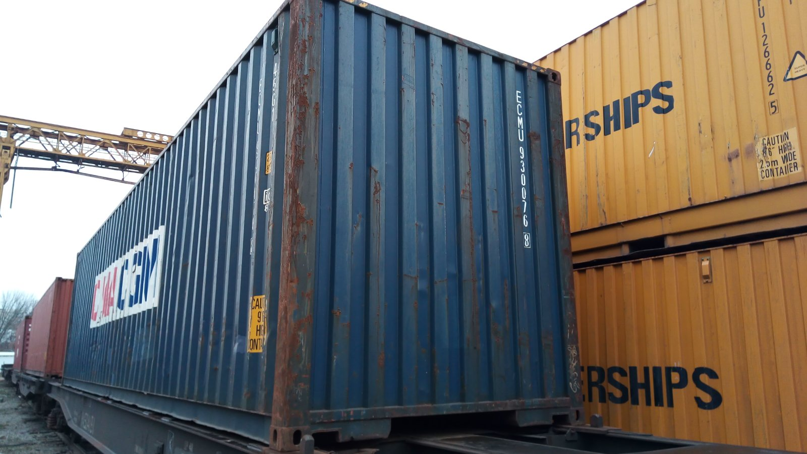 40HC Shipping containers 40 feet high cube