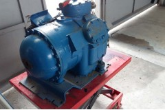 Carrier compressor, second-hand. From disassembly