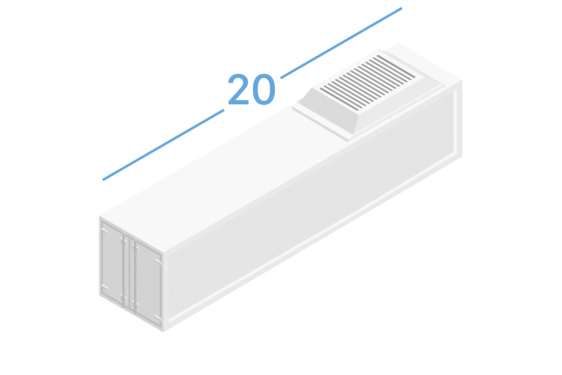 20RF Refrigerated containers 20 feets