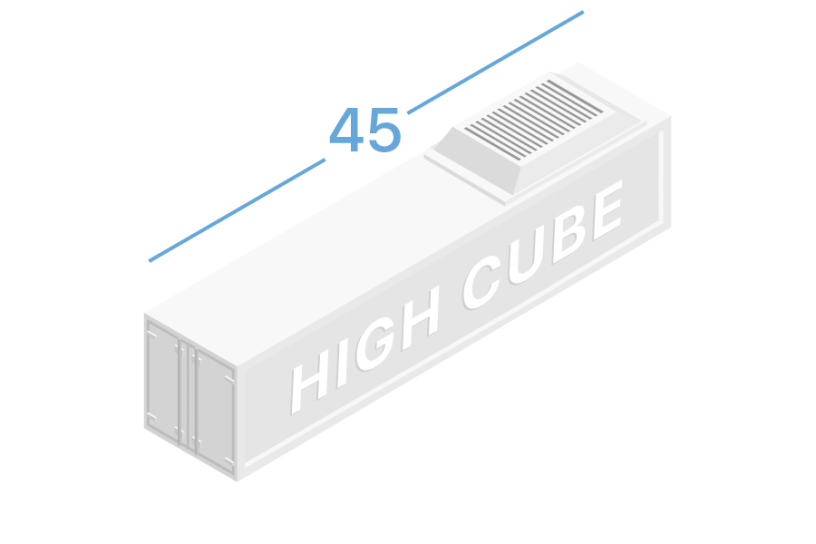 45HR Refrigerated containers 45 feet high cube